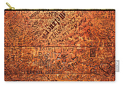 Table Graffiti Carry-all Pouch