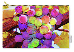 Table Grapes Carry-all Pouch by Timothy Bulone