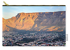 Carry-all Pouch featuring the photograph Table Mountain by Alexey Stiop