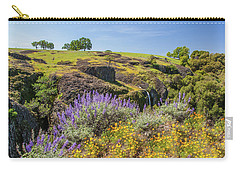 Carry-all Pouch featuring the photograph Table Mountain by Charles Garcia