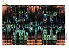 Carry-all Pouch featuring the digital art Taboo Island by Kiki Art