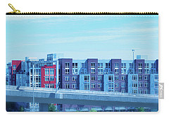 Tacoma Blues - Cityscape Art Print Carry-all Pouch