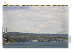 Tacoma Narrows Bridge Panorama Carry-all Pouch