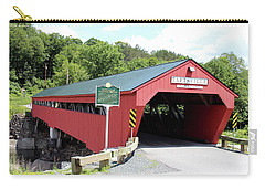 Taftsville Covered Bridge Carry-all Pouch