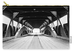 Taftsville Covered Bridge Carry-all Pouch by Greg Fortier