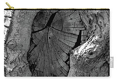 Carry-all Pouch featuring the photograph Tahoe Abstract Bark by LeeAnn McLaneGoetz McLaneGoetzStudioLLCcom