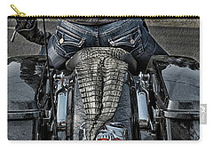 Tail Of The Dragon  Human Interest Art By Kaylyn Franks.  Carry-all Pouch