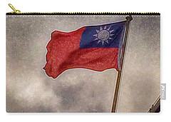 Taiwan Flag Carry-all Pouch