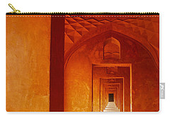 Taj Mahal Carry-all Pouch by M G Whittingham