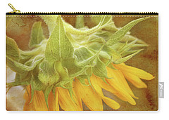 Carry-all Pouch featuring the photograph Take A Bow by Joan Bertucci