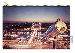 Carry-all Pouch featuring the photograph Take A Look At Paris by Hannes Cmarits