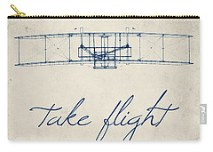 Take Flight Carry-all Pouch by Brandi Fitzgerald