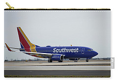 Take Off Southwest Airlines N7878a Hartsfield-jackson Atlanta International Airport Art Carry-all Pouch