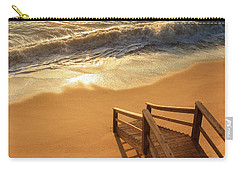 Take The Stairs To The Waves Carry-all Pouch