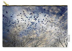 Carry-all Pouch featuring the photograph Taken Flight by Jan Amiss Photography