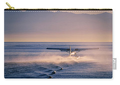 Takeoff Into The Light Carry-all Pouch by Keith Boone