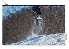 Carry-all Pouch featuring the photograph Taking Air On Mccauley Mountain by David Patterson