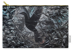 Carry-all Pouch featuring the painting Taking Flight by Tone Aanderaa
