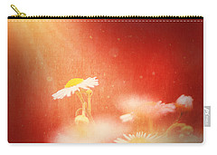 Carry-all Pouch featuring the photograph Taking In The Light by Greg Collins