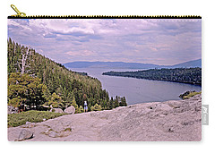 Carry-all Pouch featuring the photograph Taking It In  by Lynda Lehmann