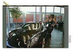 Talisa Hartleys Sports Cars And Big Muscles Carry-all Pouch