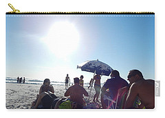 Talking About Life Carry-all Pouch by Beto Machado