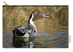 Talking Pintail Carry-all Pouch