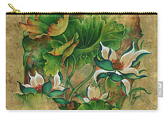 Talks About The Essence Of Life Carry-all Pouch by Anna Ewa Miarczynska