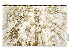 Carry-all Pouch featuring the photograph Tall Aspens by Elena Elisseeva