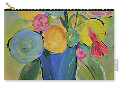 Tall Floral Order Carry-all Pouch