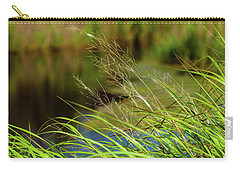 Tall Grass At Boat Dock Carry-all Pouch