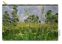 Carry-all Pouch featuring the painting Tall Grass by Judith Rhue