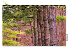 Tall Pines Standing Guard Carry-all Pouch
