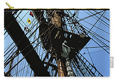 Tall Ship Design By John Foster Dyess Carry-all Pouch