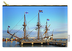 Tall Ship Kalmar Nyckel Carry-all Pouch by Allan Levin