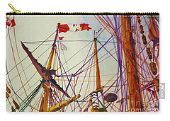 Tall Ship Lines Carry-all Pouch