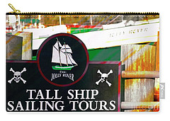 Tall Ship Tours Georgetown S C Carry-all Pouch by Bob Pardue