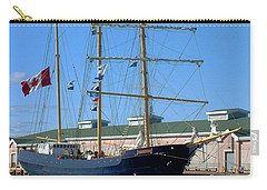Carry-all Pouch featuring the photograph Tall Ship Waiting by RC DeWinter