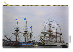 Historic Tall Ships Hermione And Sagres Carry-all Pouch