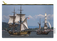 Tall Ships Square Off Carry-all Pouch