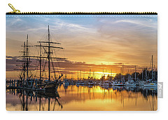 Tall Ships Sunset 1 Carry-all Pouch