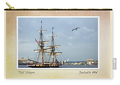 Carry-all Pouch featuring the photograph Tall Ships V3 by Heidi Hermes