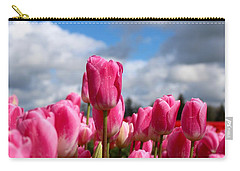 Tall Standing Tulip Carry-all Pouch