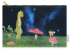 Tall Tales Carry-all Pouch by Betsy Knapp