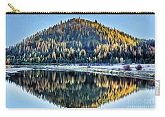 Tamarack Glow Idaho Landscape Art By Kaylyn Franks Carry-all Pouch