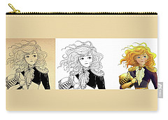 Tammy Portrait  Restorations Carry-all Pouch