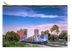 Carry-all Pouch featuring the photograph Tampa Departure by Marvin Spates