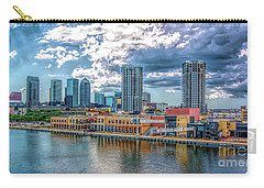 Tampa Florida Skyline Carry-all Pouch