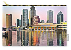 Tampa In Vivid Color Carry-all Pouch by Frozen in Time Fine Art Photography
