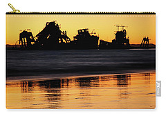 Tangalooma Wrecks Sunset Silhouette Carry-all Pouch